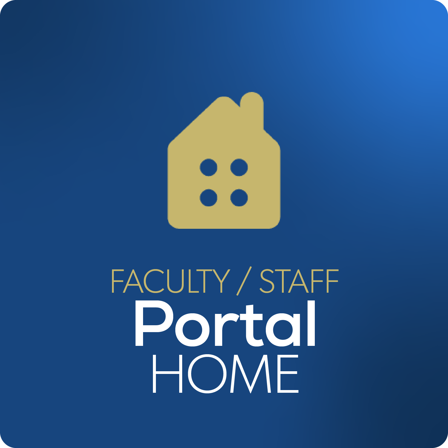 Faculty and Staff Portal